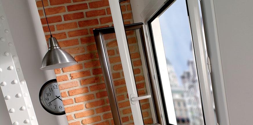 Fenêtre Aluminium OPALE à Frappe