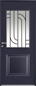 DECO - Porte d'entrée acier Newsteel - Les Menuiseries Françaises