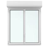Fenêtre avec volet roulant intégré