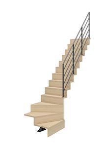 Escalier LIAISON quart tournant bas