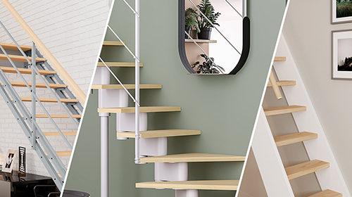 Escaliers gain de place design et astucieux