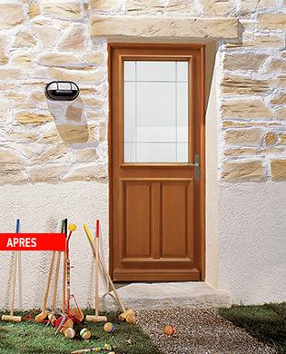 Porte bois ESTELLA AG K - Les Menuiseries Françaises